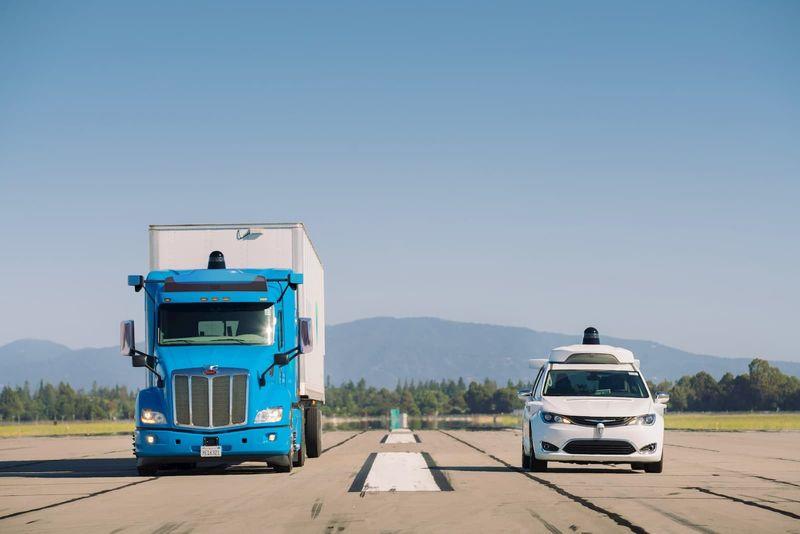 Self-Driving Long Haul Trucks