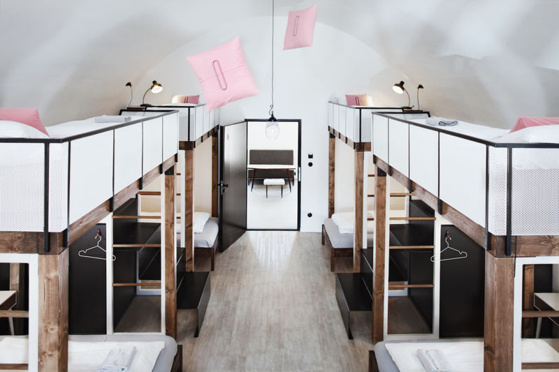 Contemporary Dorm-Style Hostels