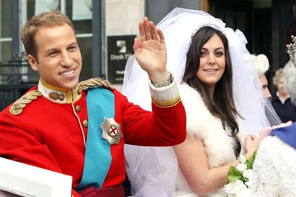Royal Couple Impersonators