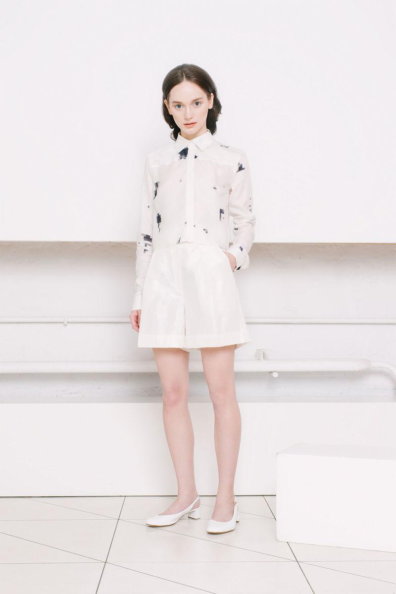 Minimalist Pixelated Fashion