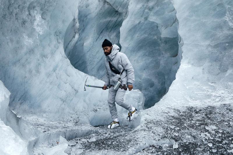 Strikingly Icy Lookbook Photography