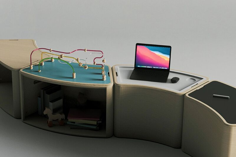 Kid-Friendly Modular Furniture