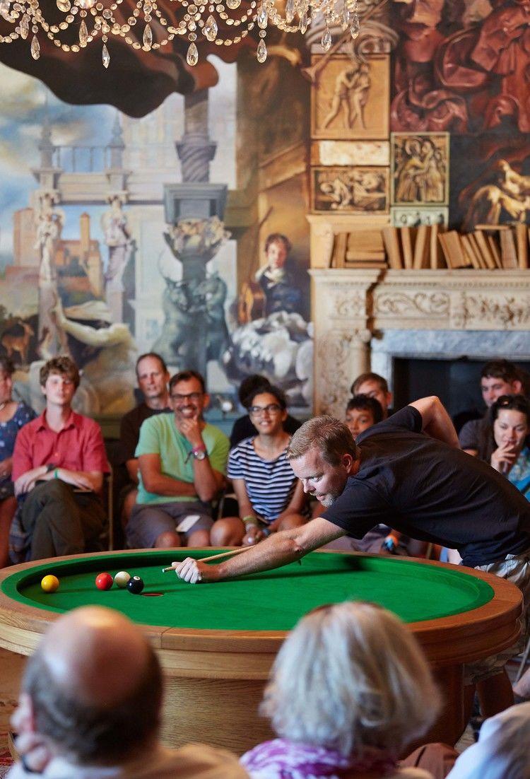 Circular Pool Tables Loop Table - Circular pool table