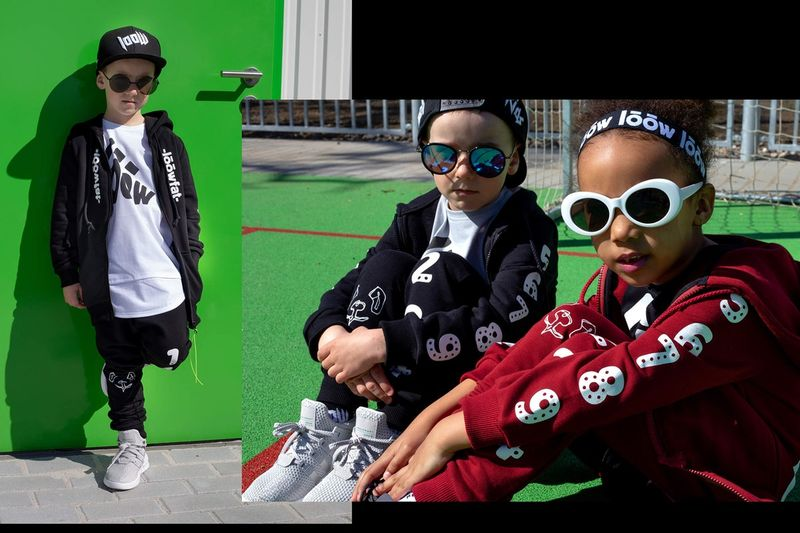 Hip Youth Streetwear Lookbooks