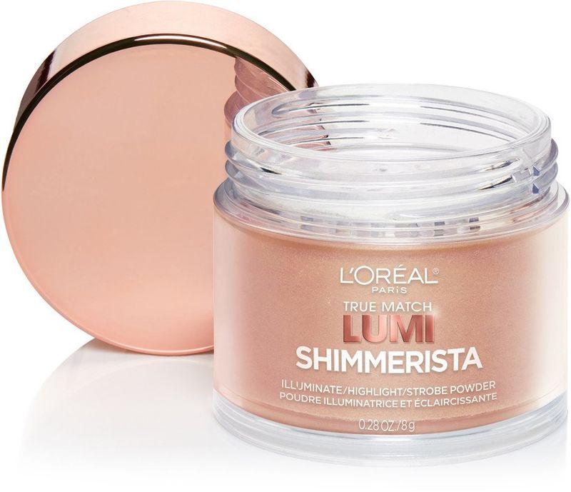 Luminous Rose-Gold Makeup