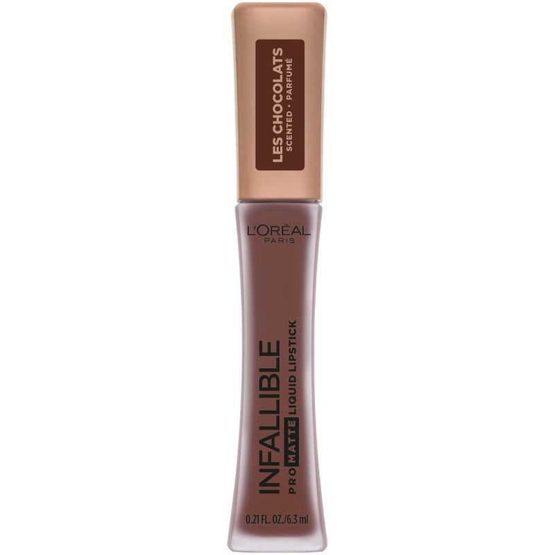 Matte Chocolate-Scented Lipsticks