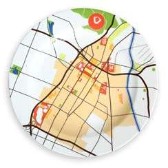 ART: Los Angeles on a Plate