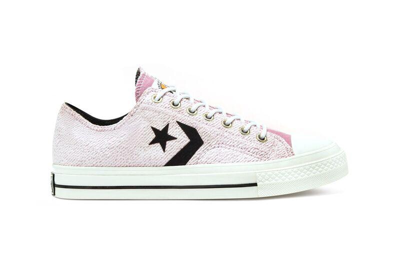 Asymmetrical Pink Tonal Sneakers