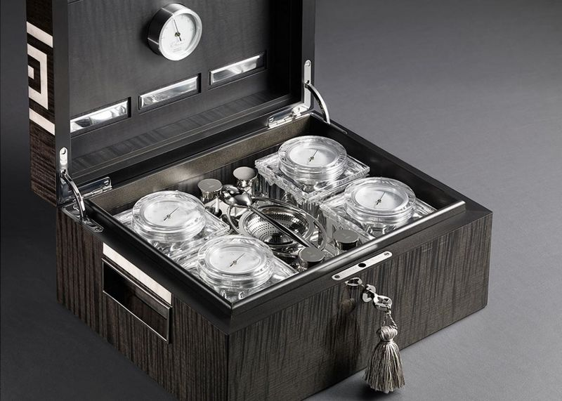 Luxurious Tea Humidors