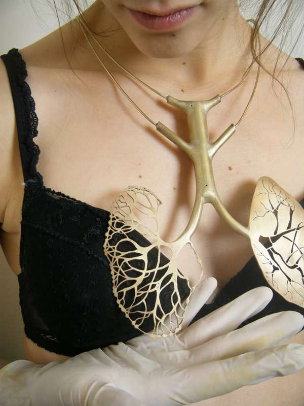 Realistic Anatomical Jewelry
