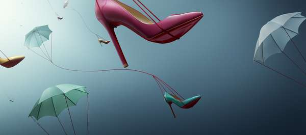 Parachuting Stilettos