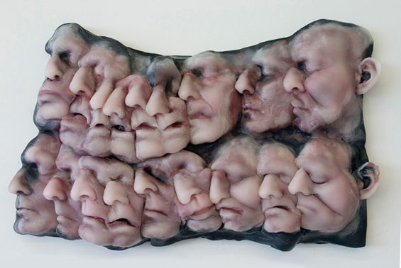 Grotesque Self Portrait Sculptures