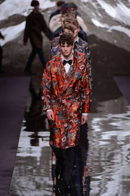 Decadent Tapestry-Inspired Menswear