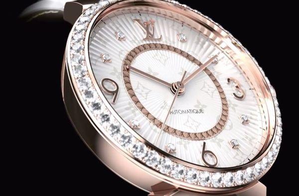 Designer Diamond Monogram Timepieces