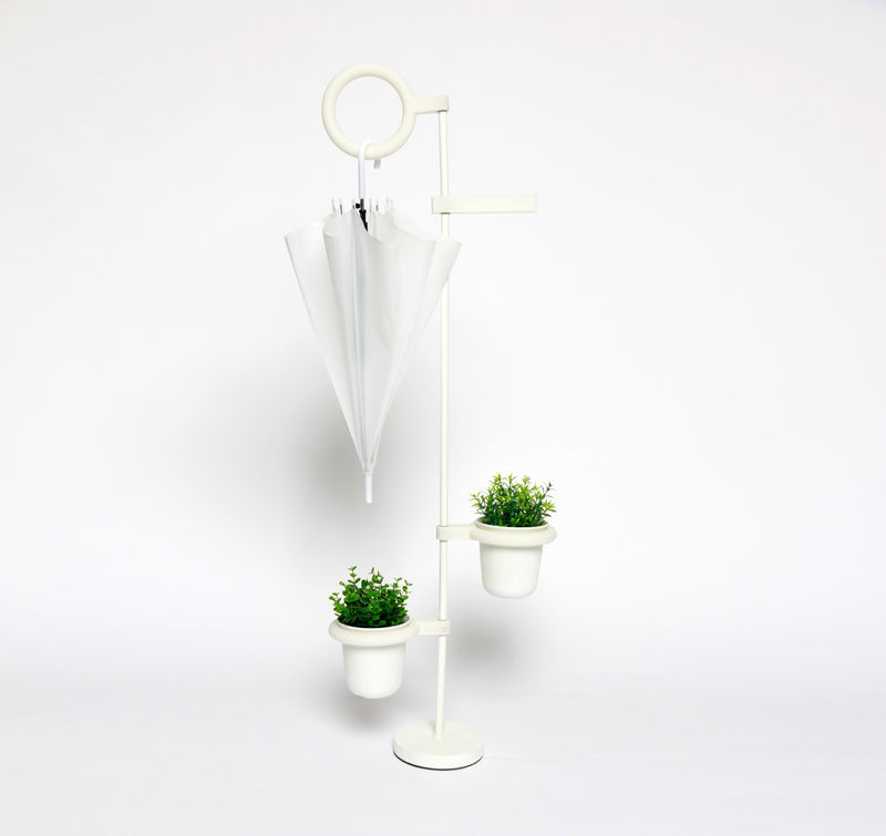 Plant-Watering Umbrella Stands