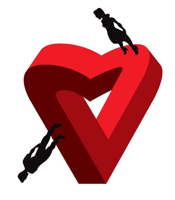 Broken Heart Decals