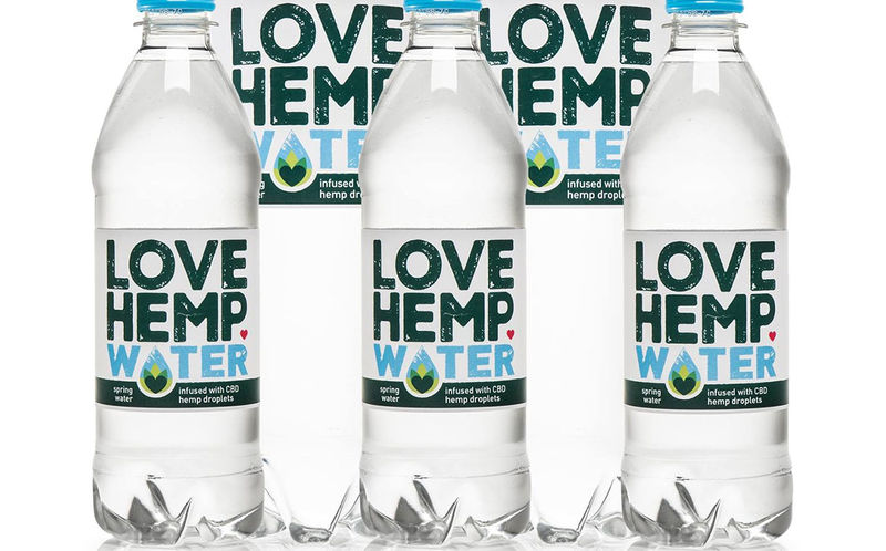 CBD-Infused Bottled Waters