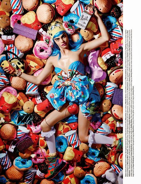 Chic Childlike Fashion Editorials