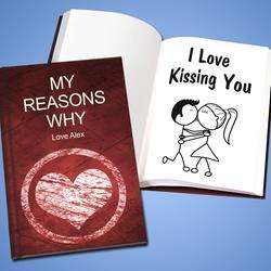 personalized love professing books love professing books