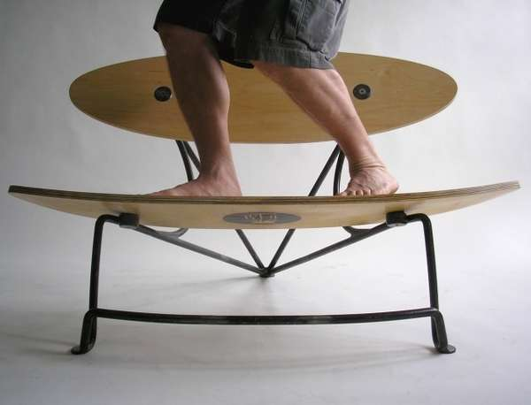 Skateboard-Like Seating