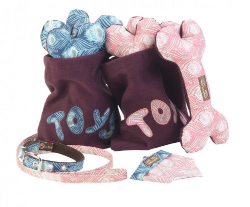 Fashion-Foward Pooch Playthings