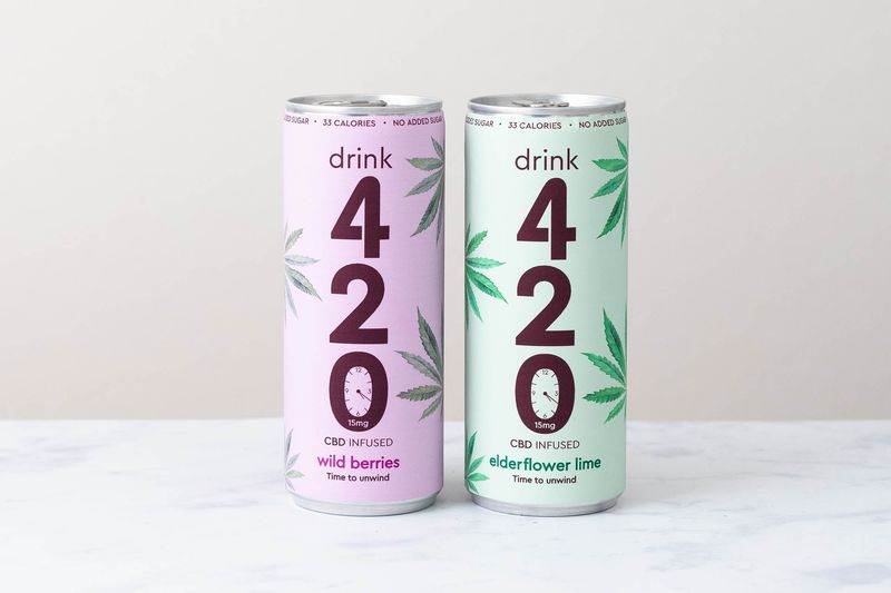All-Natural CBD Sodas : low sugar soft drink