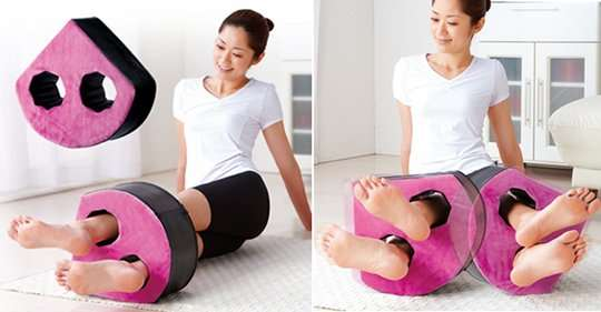 Belly-Toning Cushions