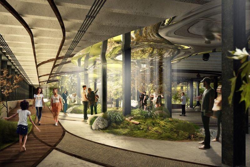 Sunlit Subterranean Parks (UPDATE)