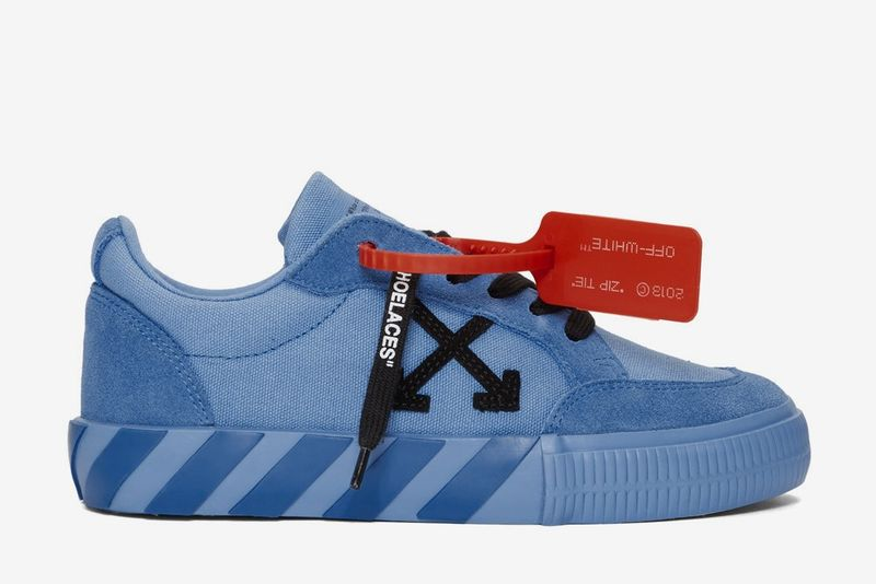 Monochromatic Low-Top Sneaker Silhouettes