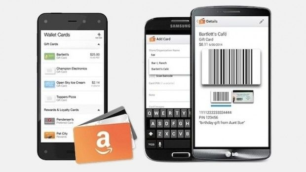 Digitized Gift Card Apps