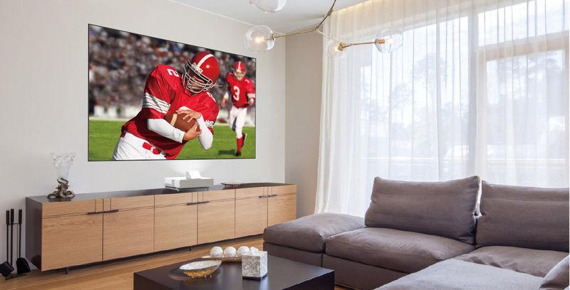Anti-Reflection Projection TVs