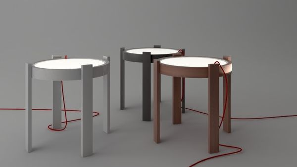 Illuminated Tabletop Furniture