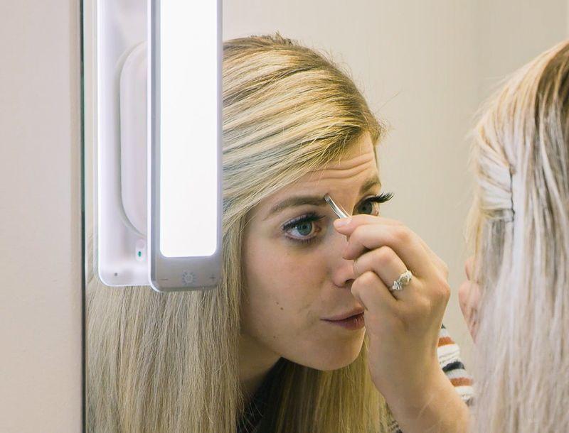 Targeted Bathroom Mirror Illuminators
