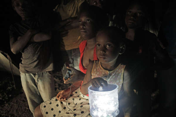 Charitable Solar-Powered Lamps