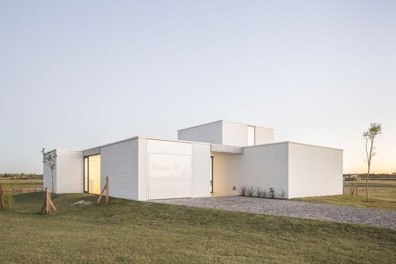 Inventive White Box Homes