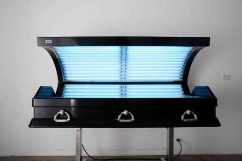 Tanning Bed Coffins