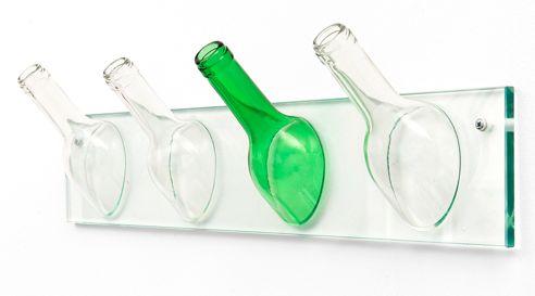 Recycled Bottle Hatracks