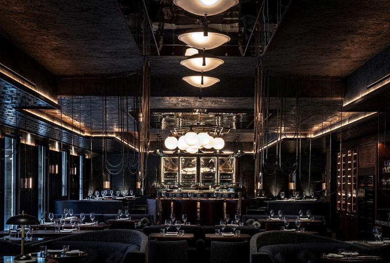 Highly Elegant Restaurant Interiors