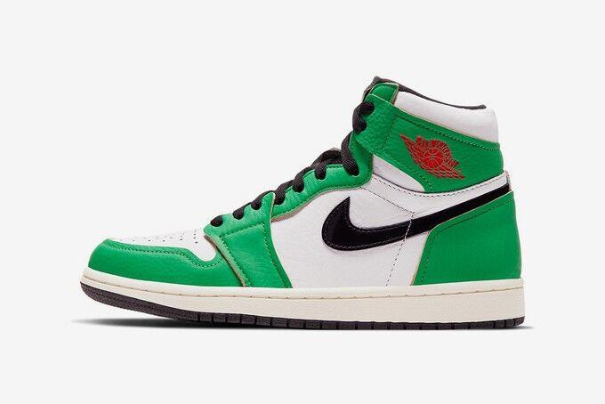 Performance-Honoring High-Top Shoe Colorways