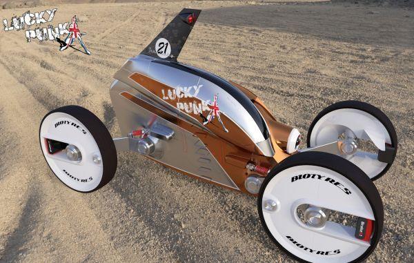 Futuristic Magnetic Motorwheels