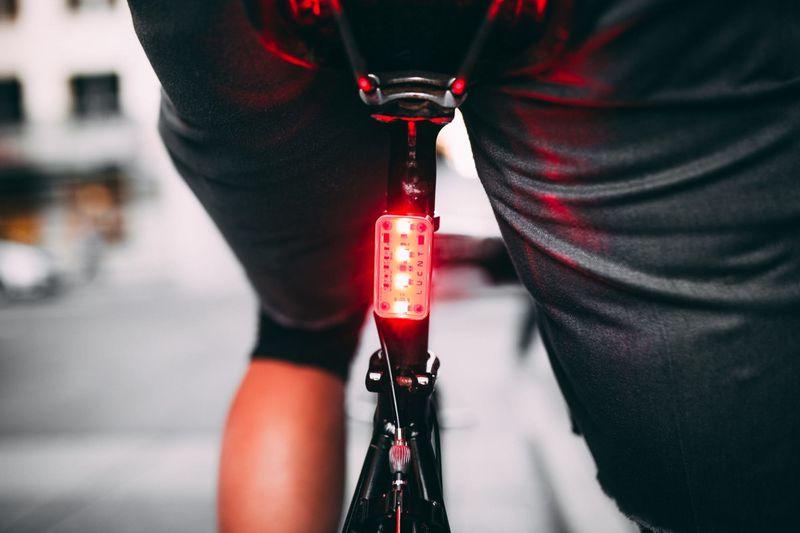 Accelerometer-Infused Bike Lights
