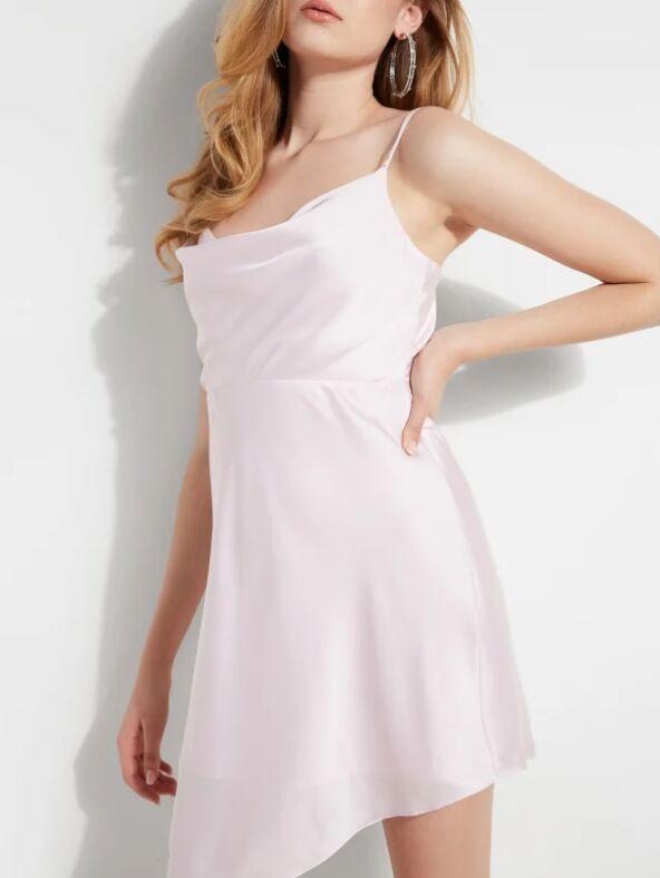 Eco-Conscious Slip Dresses