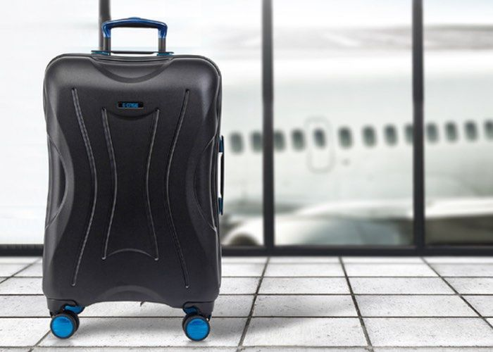 Fingerprint-Scanning Smart Luggage