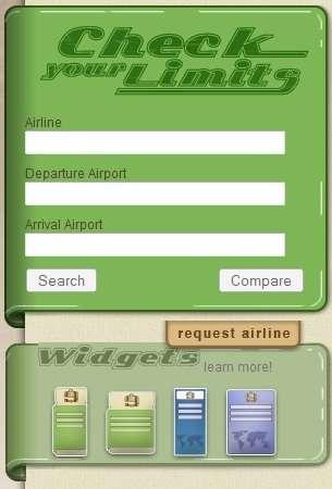 Baggage Fee Calculators