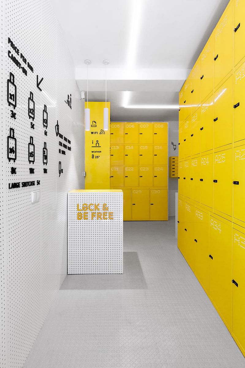 Vibrant Traveler Lockers