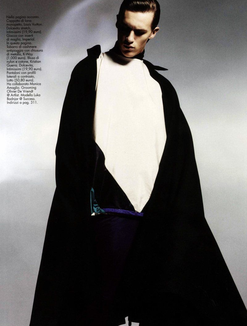 Caped Menswear Captures