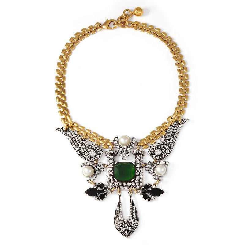 Opulent Emerald Accessories