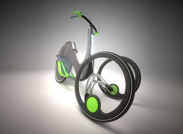 Step-Powered Pushbikes