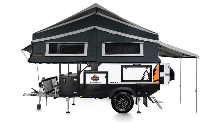 Off-Road-Ready Camping Trailers