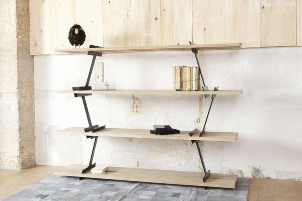 Wonky Woodsman Bookcases